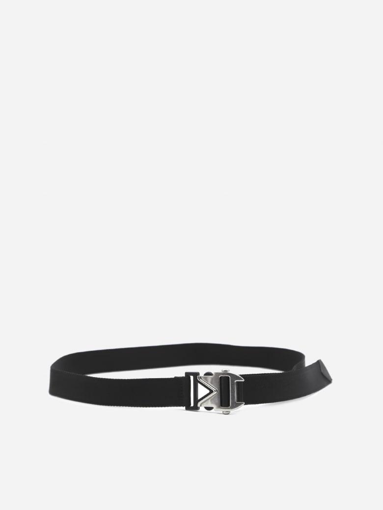 Bottega Veneta Belt With Metal Buckle Detail - Black