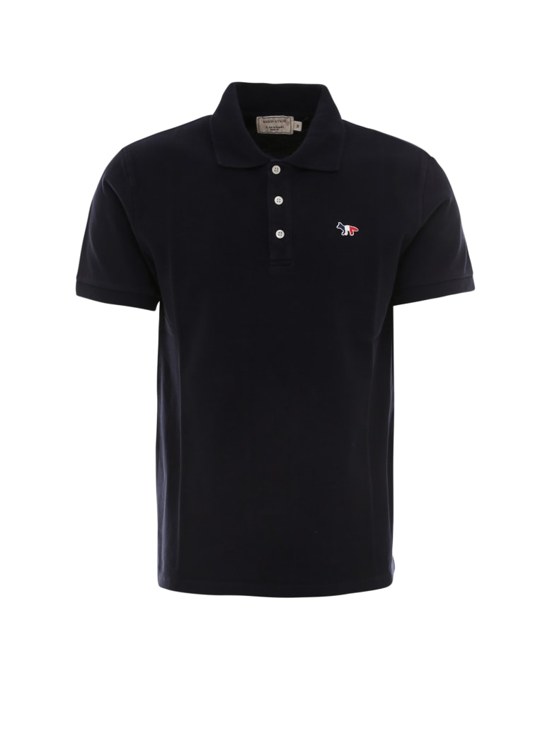 Maison Kitsuné Polo Shirt - Nero