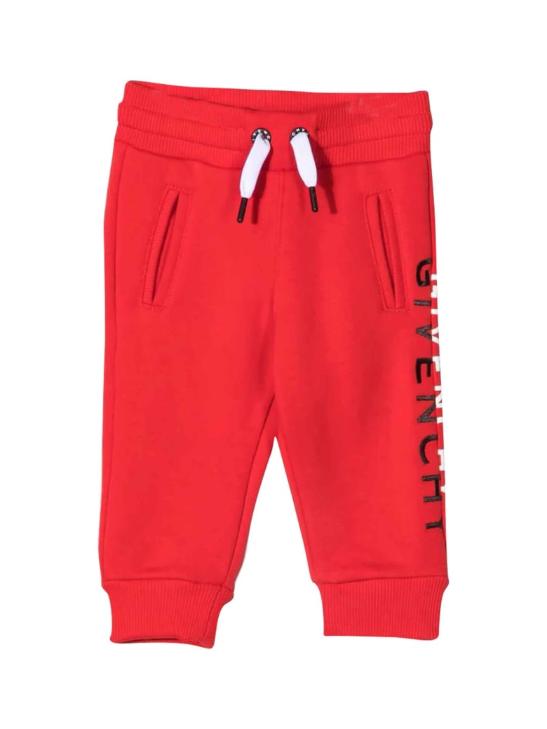 Givenchy Unisex Red Joggers - Rosso