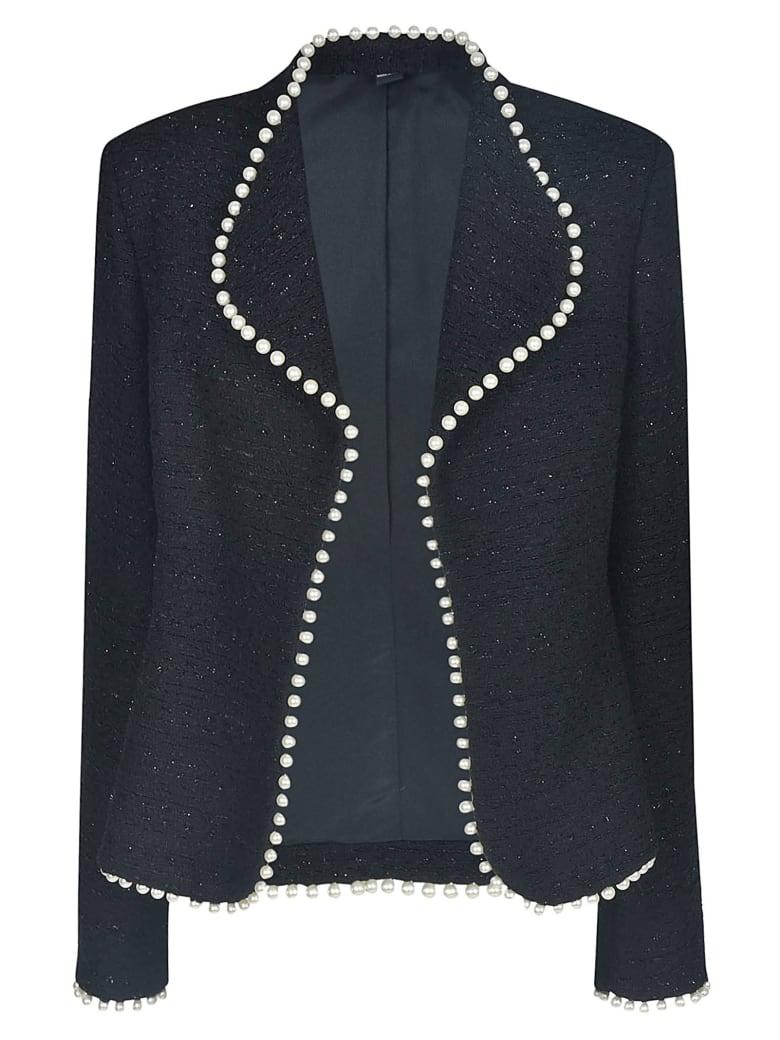 Giambattista Valli Embellished Open Jacket - Black