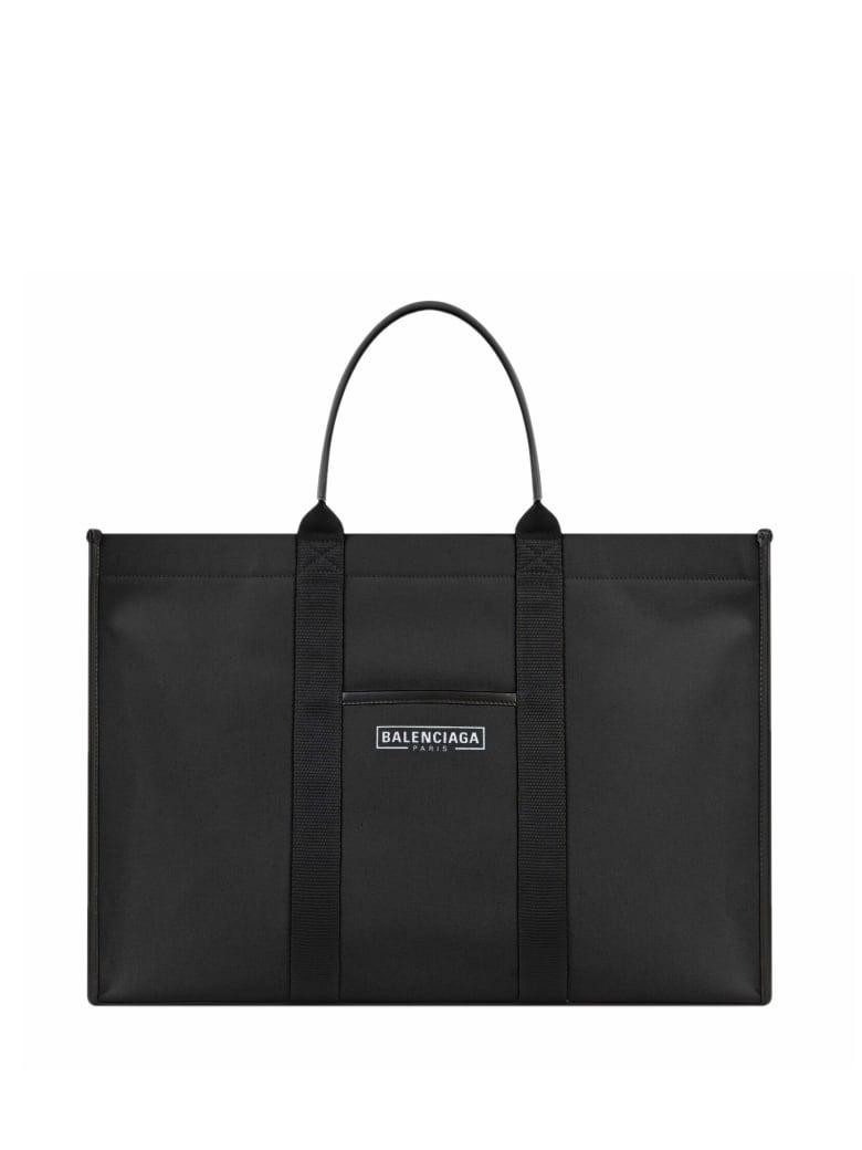 Balenciaga Shopper Neo Tote - BLACK