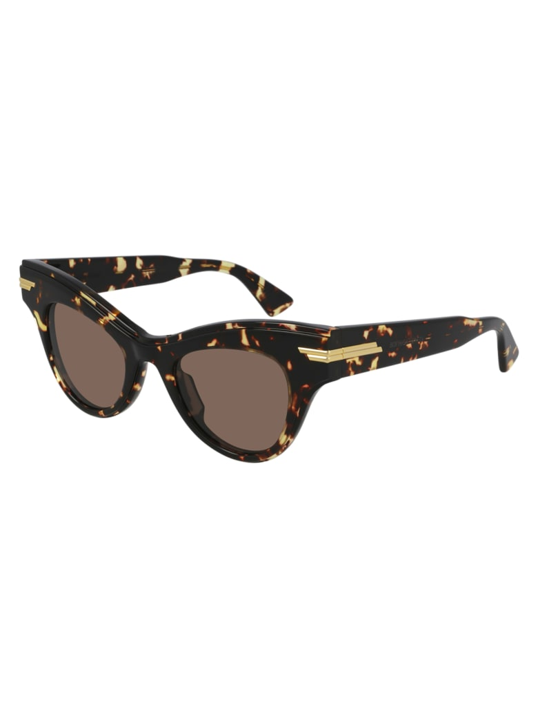 Bottega Veneta BV1004S Sunglasses - Havana Havana Brown