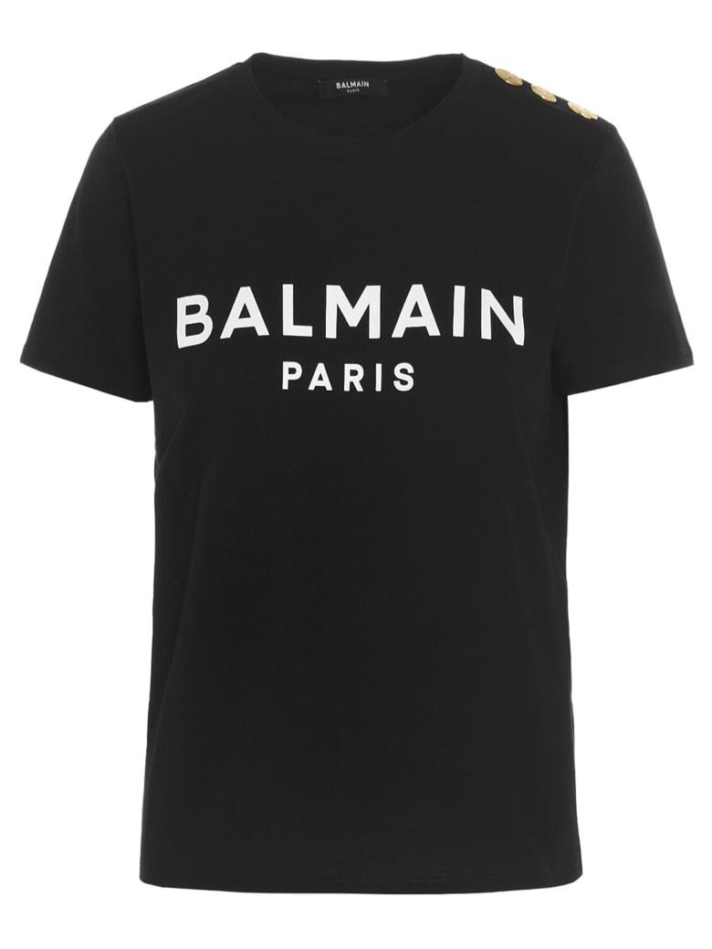 Balmain T-shirt - Nero bianco