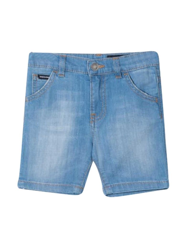 Dolce & Gabbana Diesel Kids Denim Shorts - Carta da zucchero
