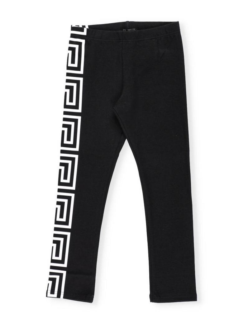 Versace Printed Leggings - NERO+BIANCO