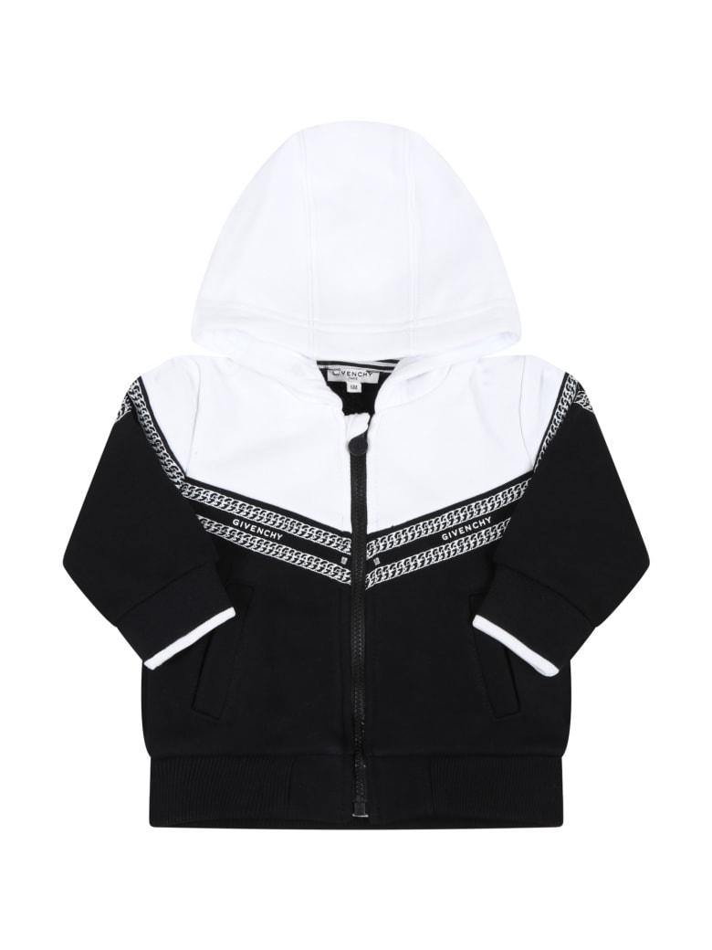 Givenchy Multicolor Sweatshirt For Baby Kids With Chains - Multicolor
