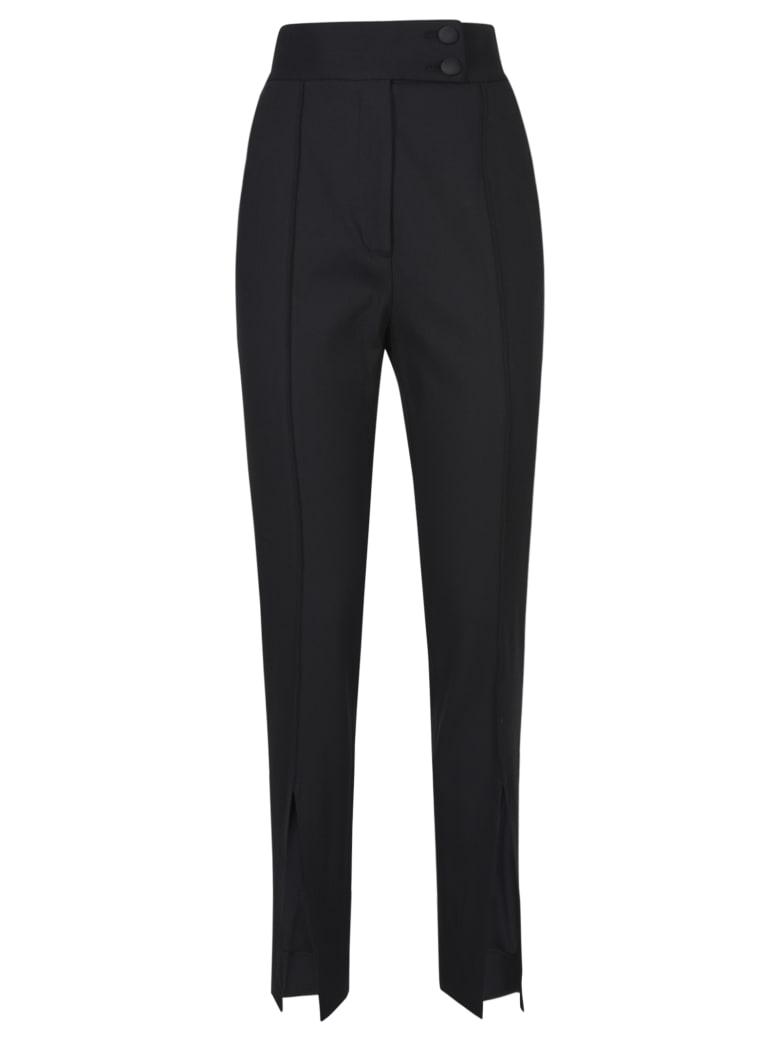 Dolce & Gabbana Slit Detail High-waist Trousers - Black