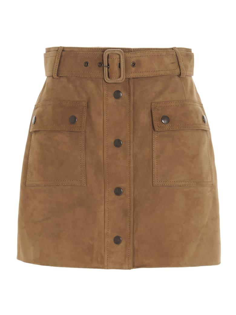 Saint Laurent Skirt - Brown
