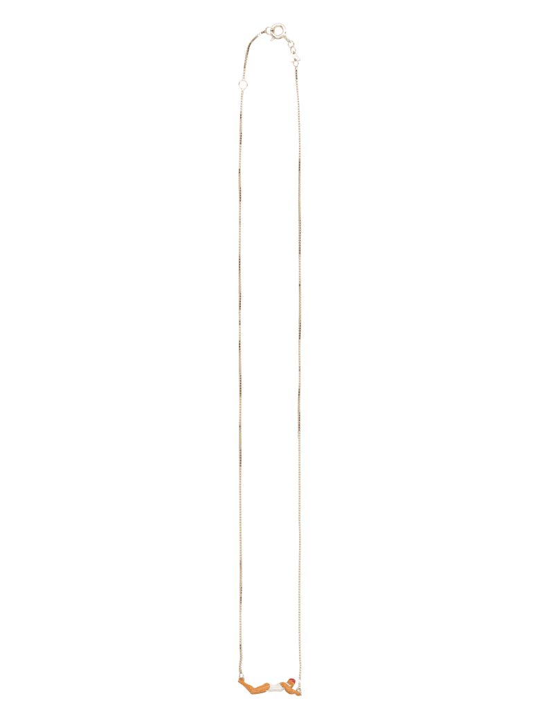 Aliita Nadadora Pendant Necklace - Gold