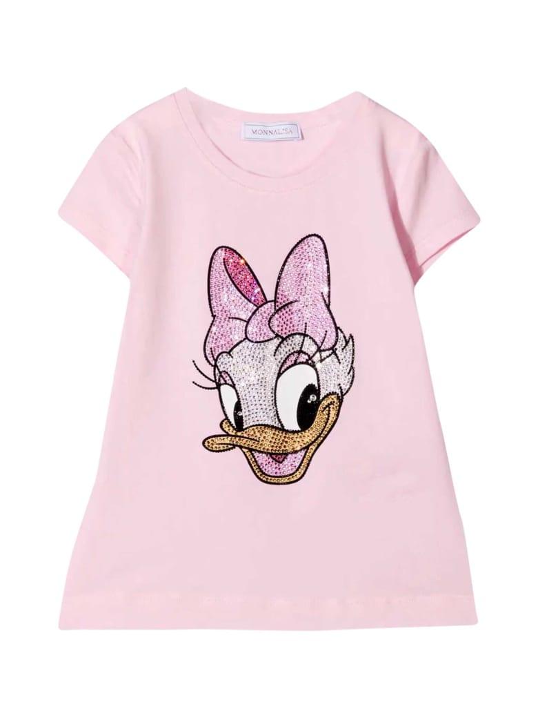 Monnalisa Pink T-shirt - Rosa