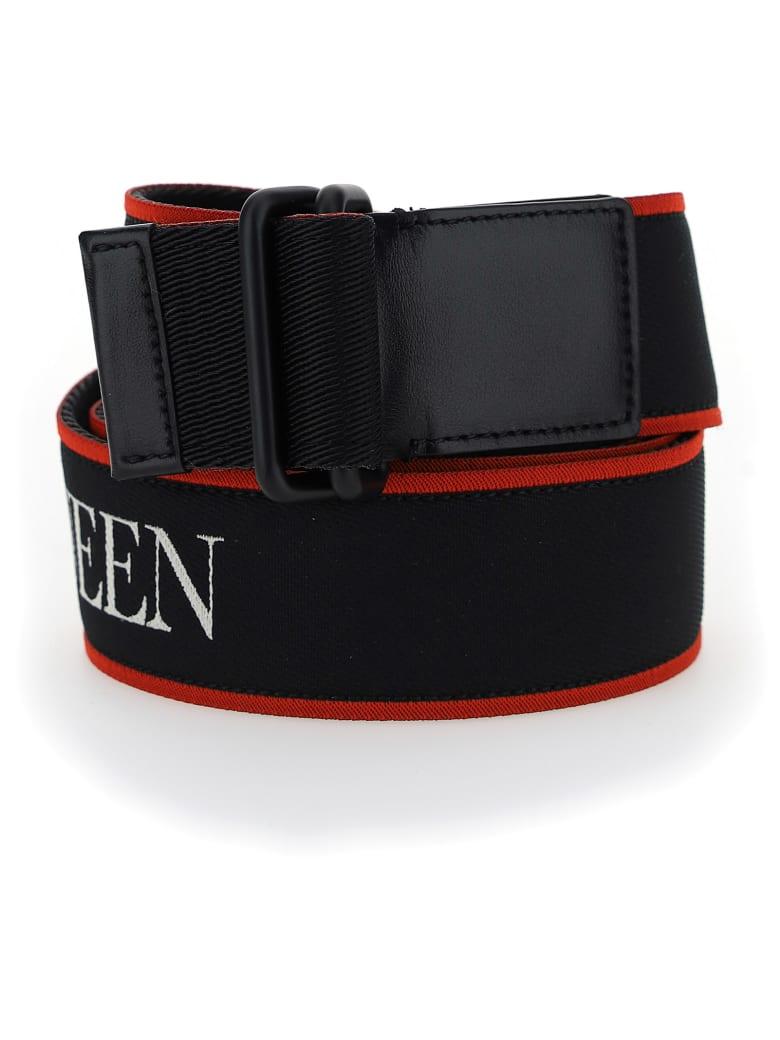 Alexander McQueen Belt - Black/red