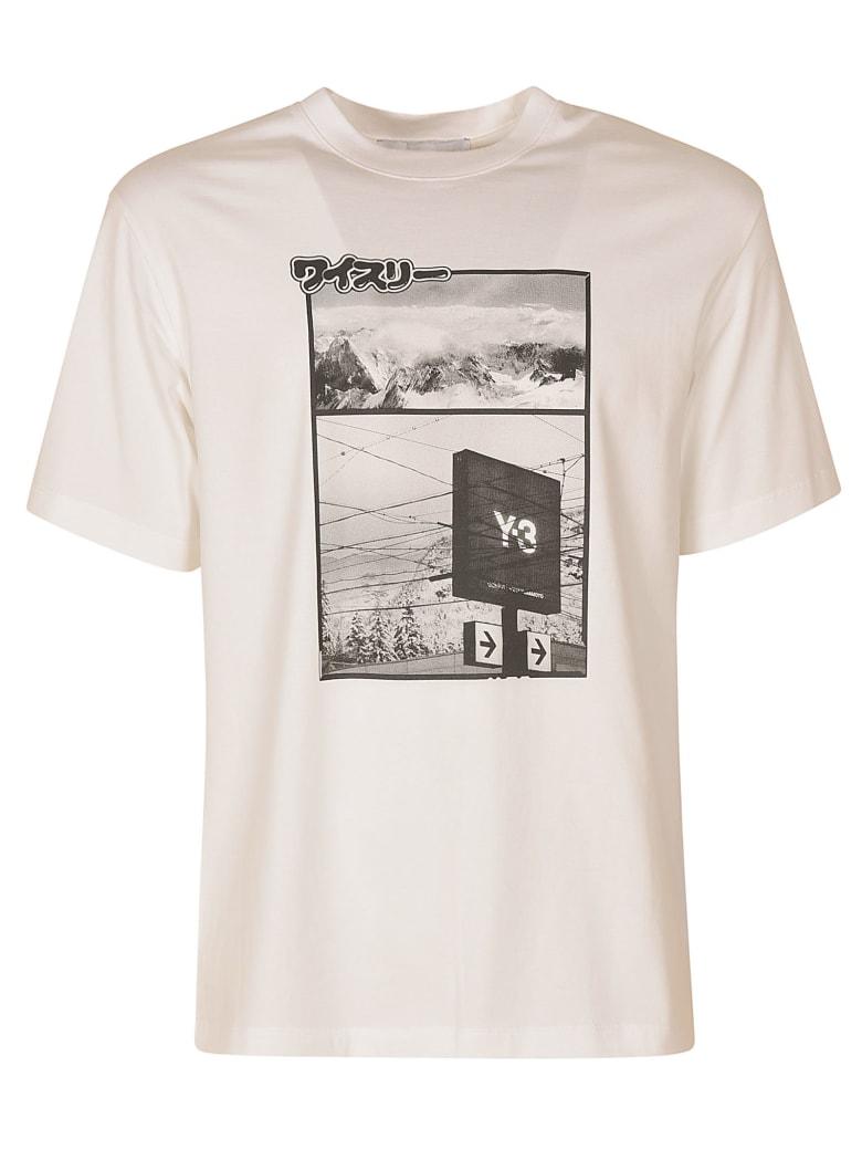 Y-3 Printed T-shirt - White