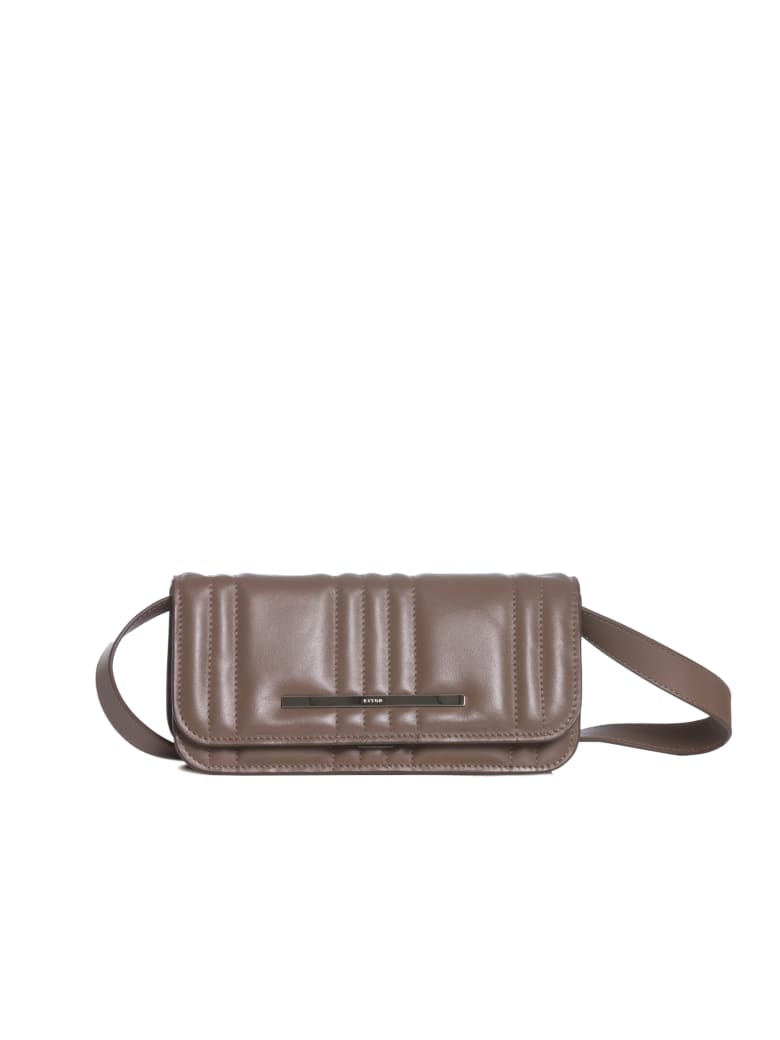 Kiton Ebe - Bag Calfskin - TAUPE
