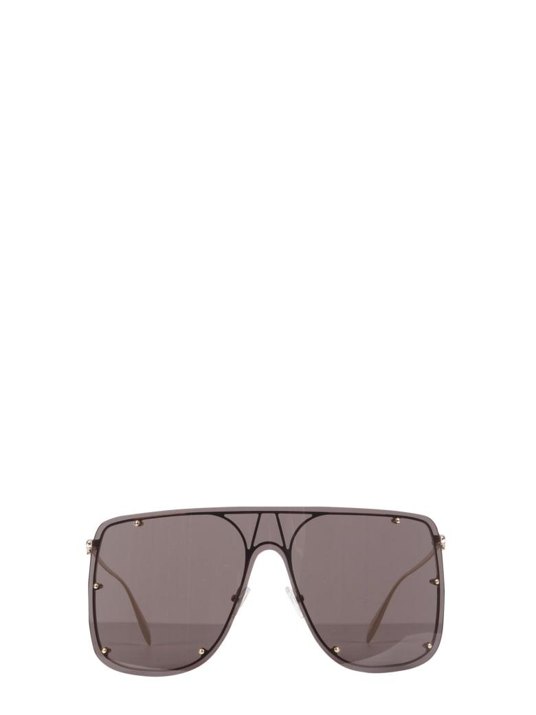 Alexander McQueen Mask Sunglasses - GRIGIO