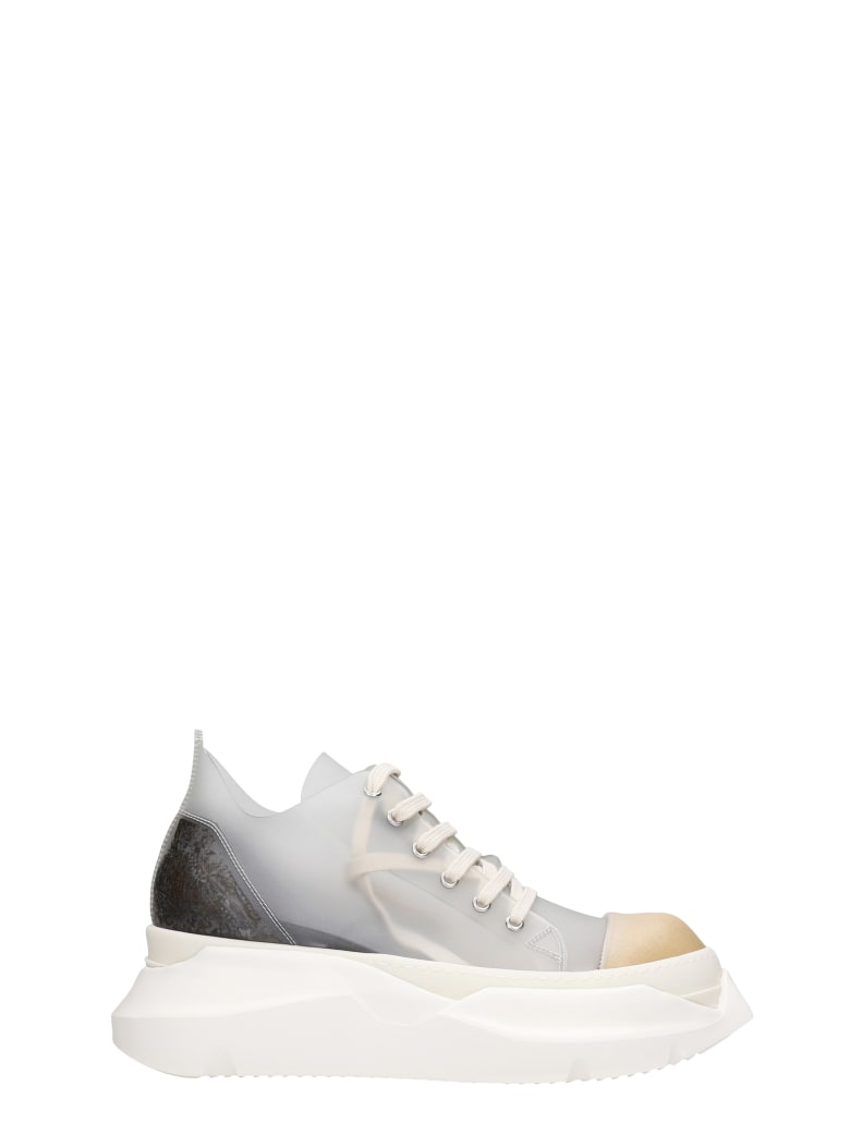DRKSHDW Abstract Sneakers In Transparent Pvc - transparent