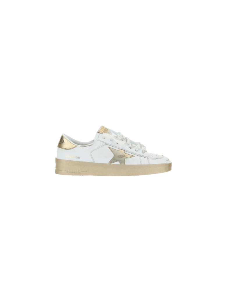 Golden Goose Sneakers - White/gold