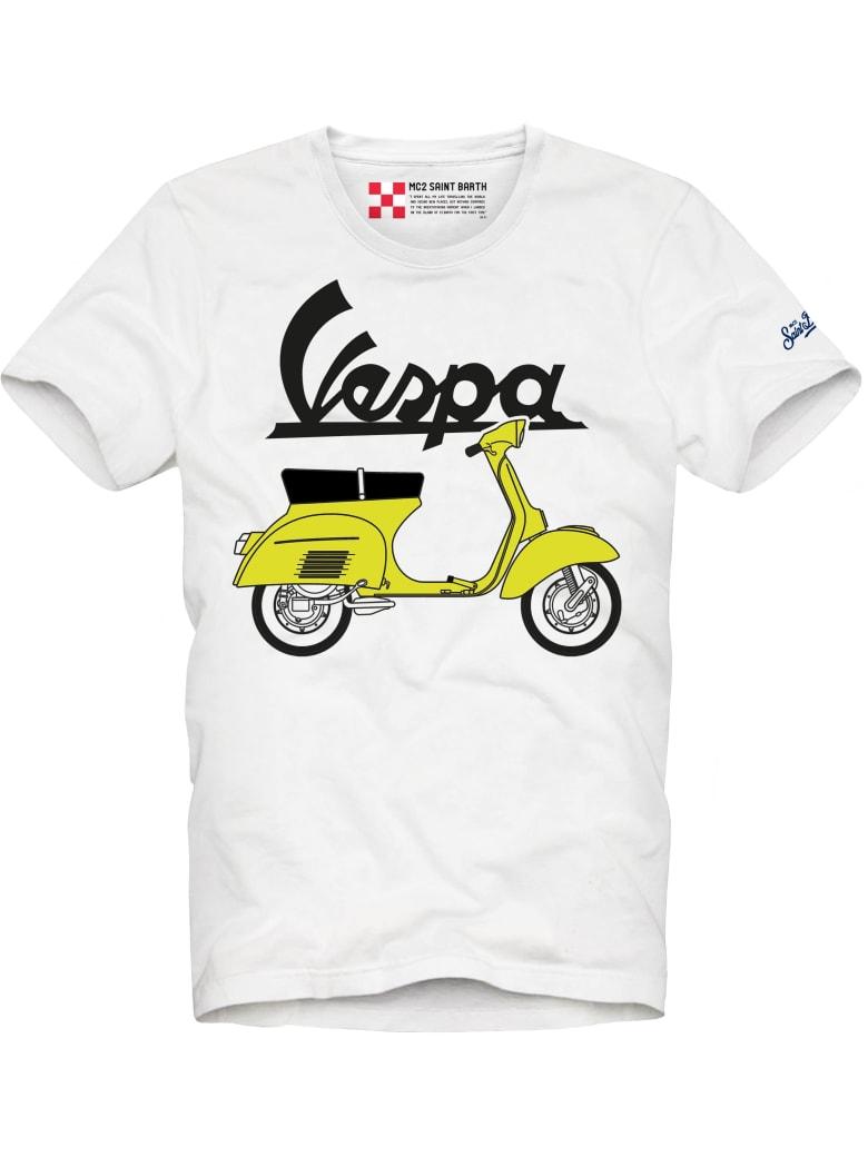MC2 Saint Barth Vespa© Outline Kid's T-shirt - Vespa® Special Edition