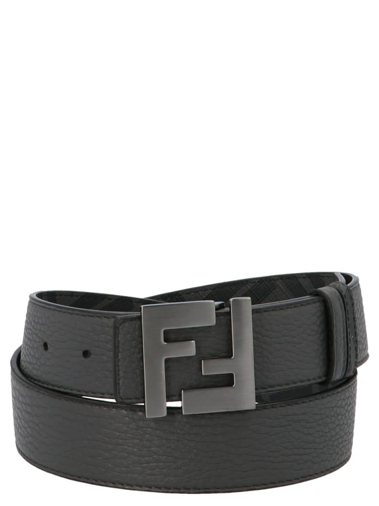 Fendi 'ff' Belt - Asfalto multicolor