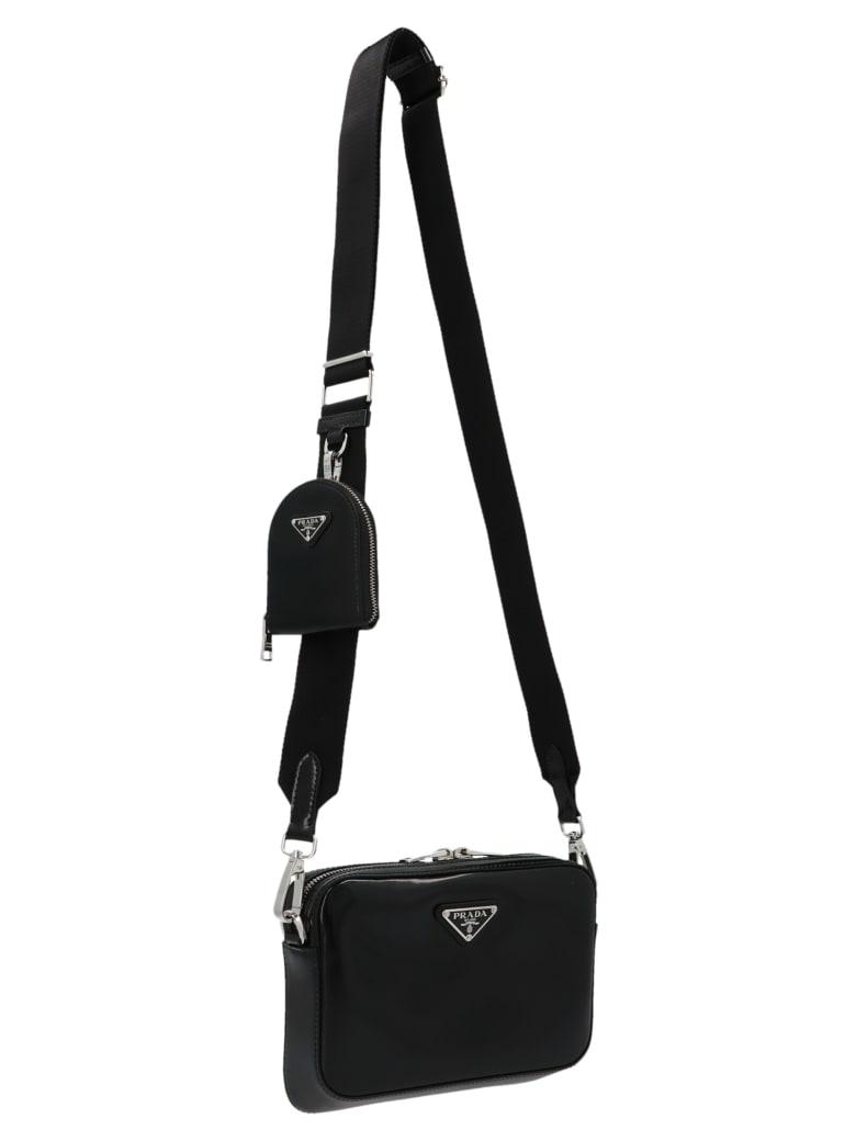 Prada 'bandoliera' Bag - Black