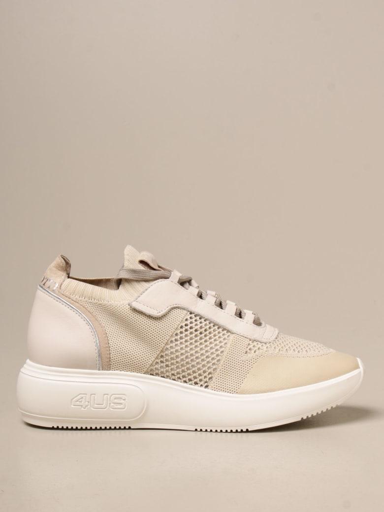 Paciotti 4US Sneakers Shoes Women Paciotti 4us - Beige