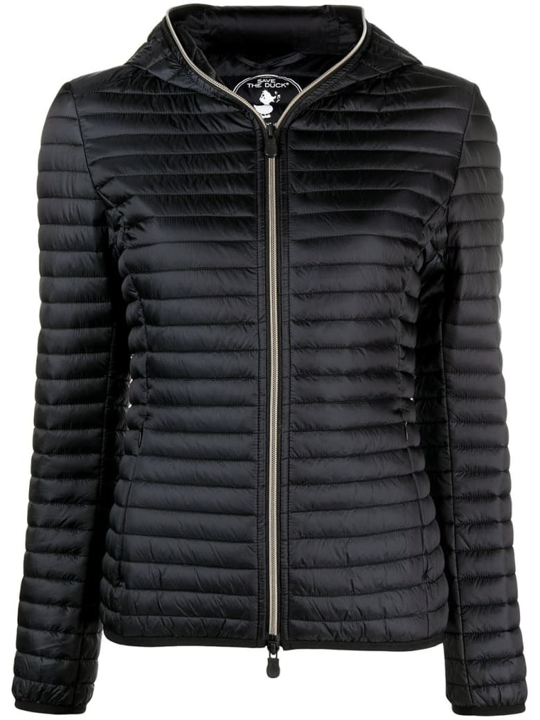 Save the Duck Alexis Ecological Down Jacket In Black Nylon