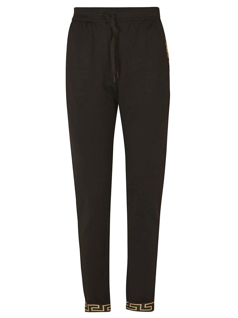 Versace Long Track Pants - Black