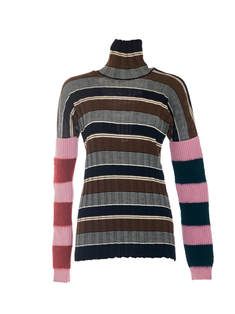 Colville Deep Sleeve Stripe - Khaki Khaki