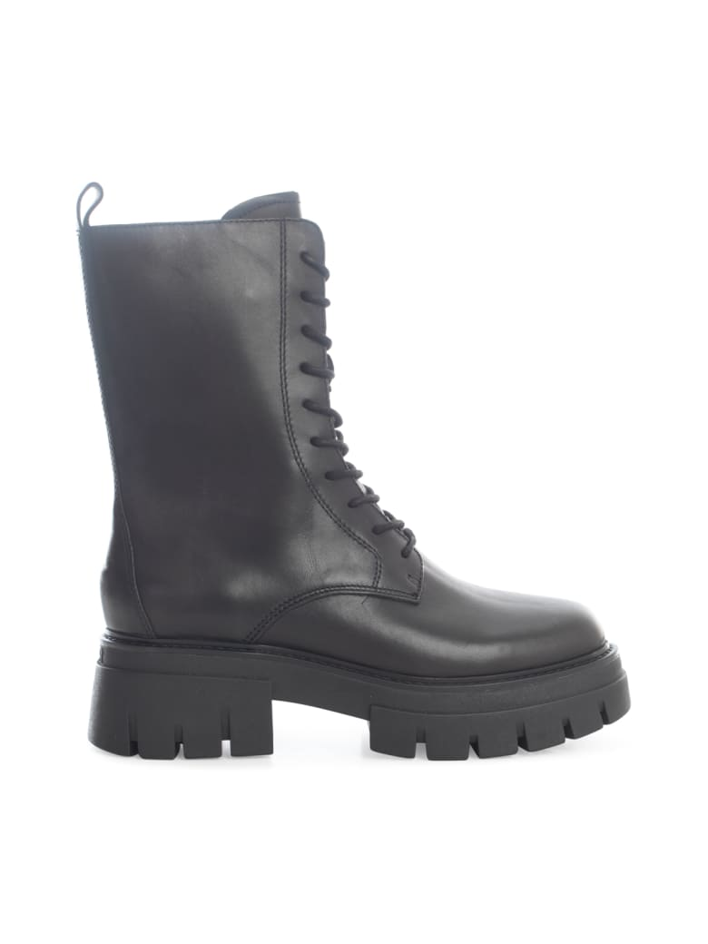 Ash Mustang Ankle Boot - Black