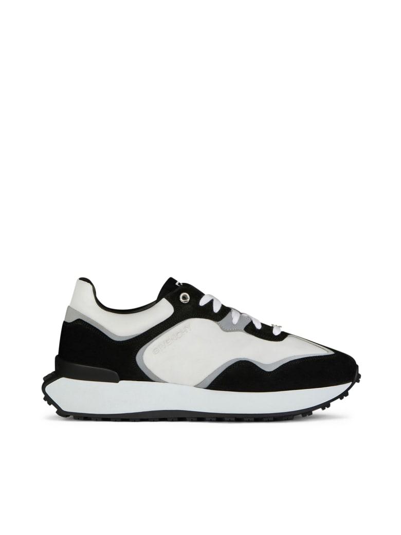 Givenchy Giv Runner Sneaker - Black Grey White