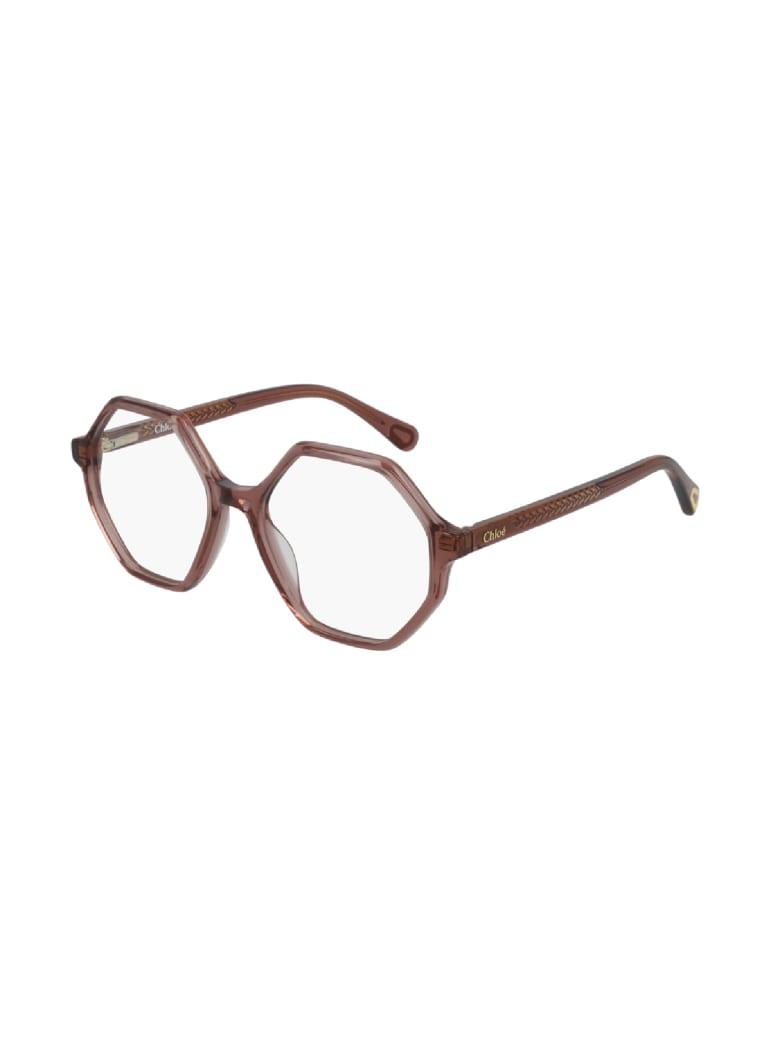 Chloé CC0005O Eyewear - Pink Pink Transparent