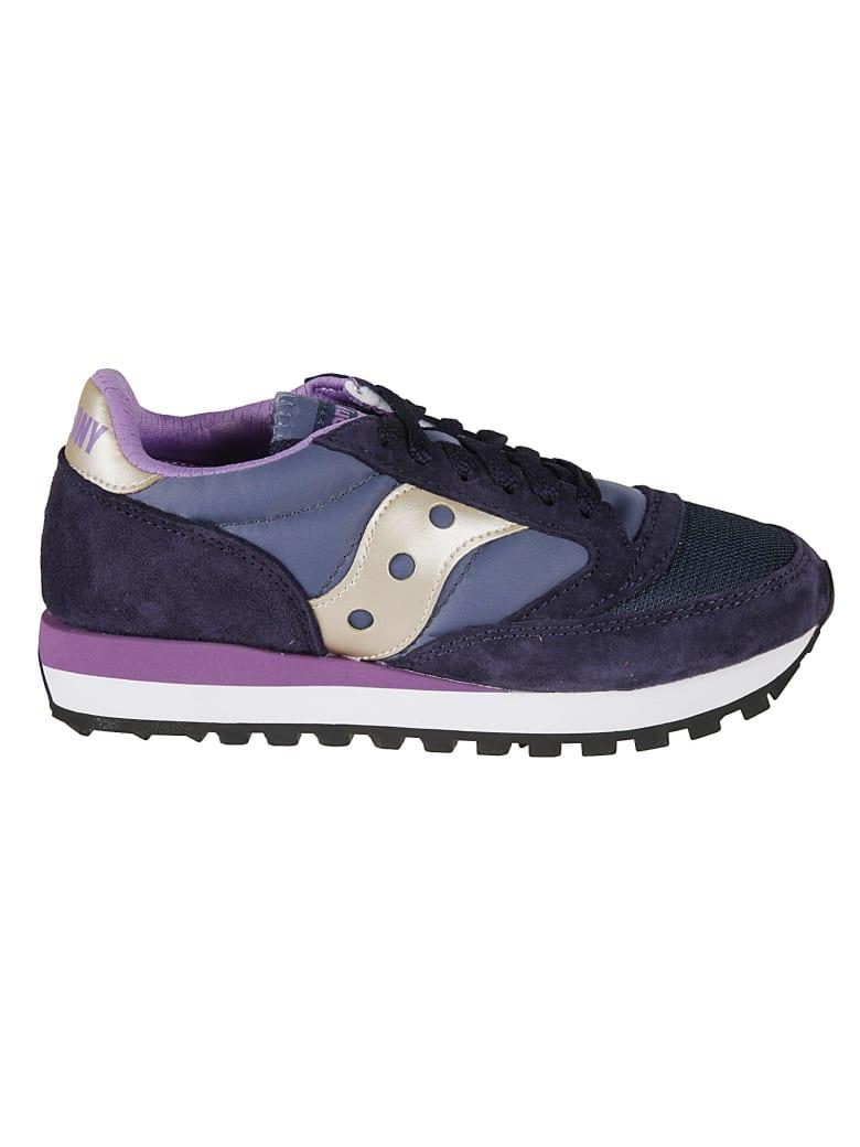 Saucony Jazz 81 Sneakers - Navy/Purple