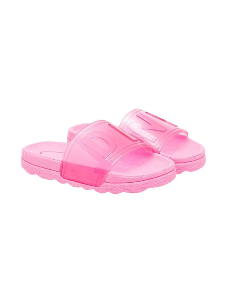 DKNY Pink Slippers - Albicocca