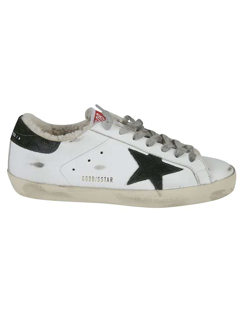 Golden Goose Super-star Classic Sneakers - White/Military/Natural White
