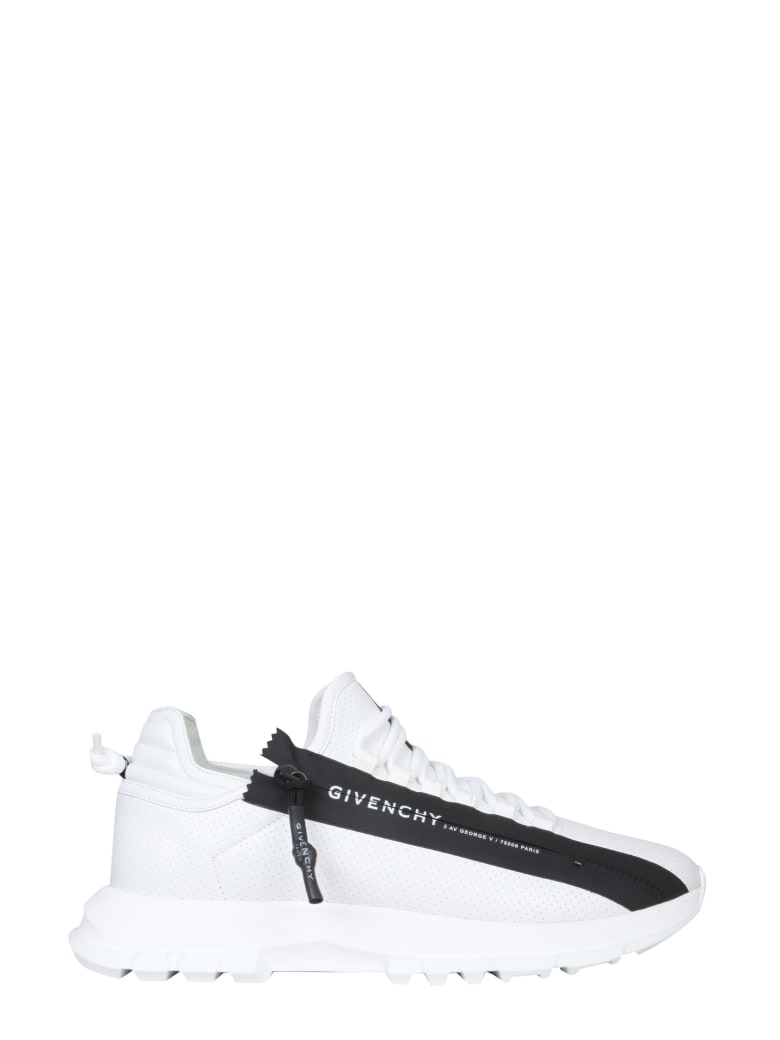 Givenchy Specter Sneakers With Zip - Bianco