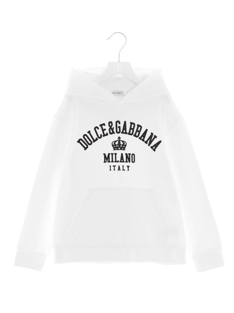 Dolce & Gabbana 'back To School' Hoodie - White