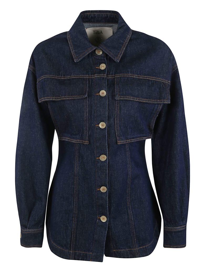 Tela Denim Jacket - Blue