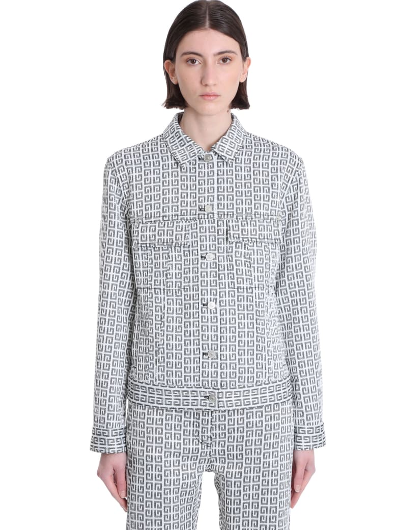 Givenchy Denim In White Denim - white