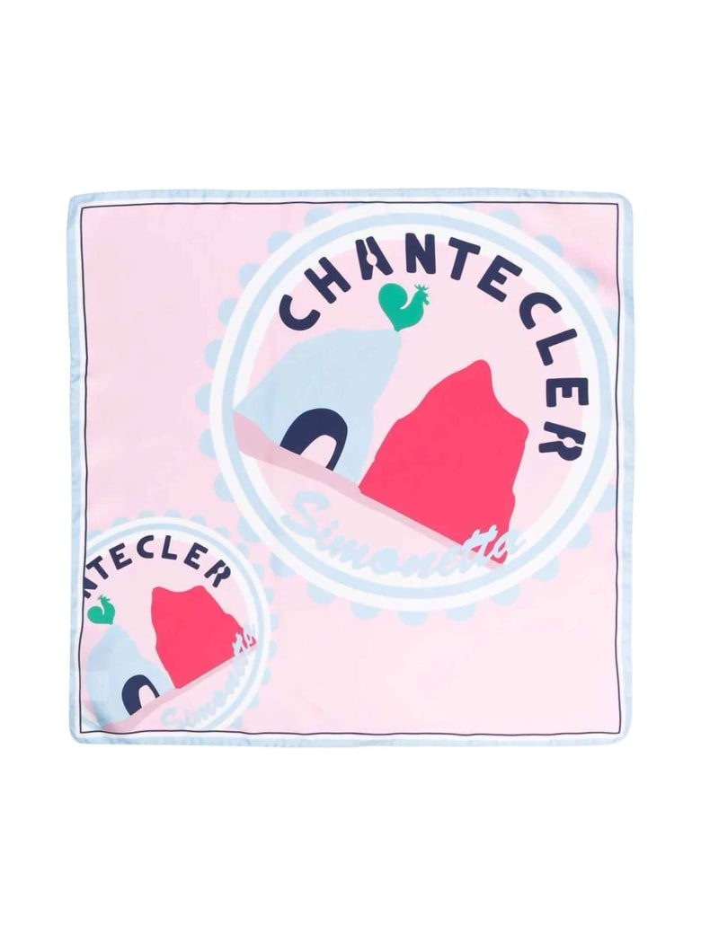 Simonetta Girl Pink Scarf - Rosa