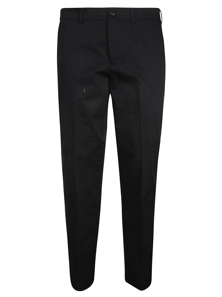 Prada Classic Cropped Trousers - Blu