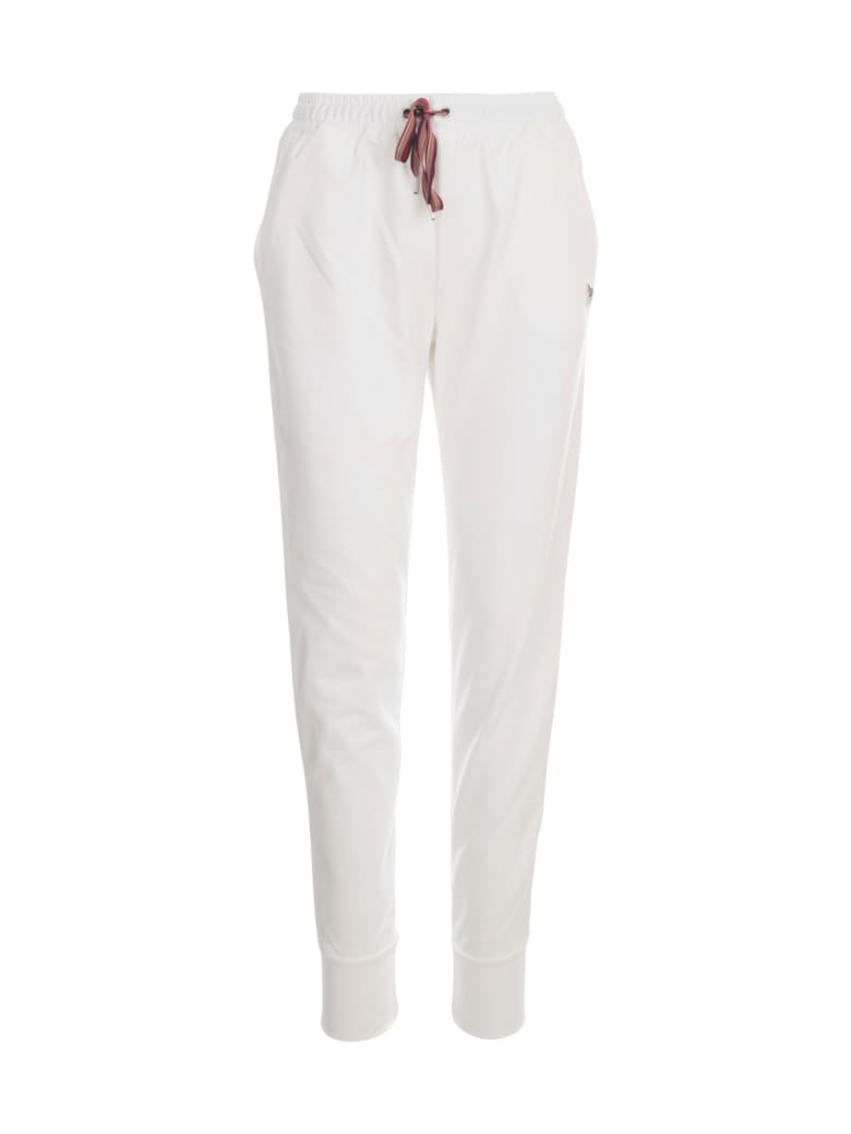 PS by Paul Smith Track Pants W/coulisse - Bianco