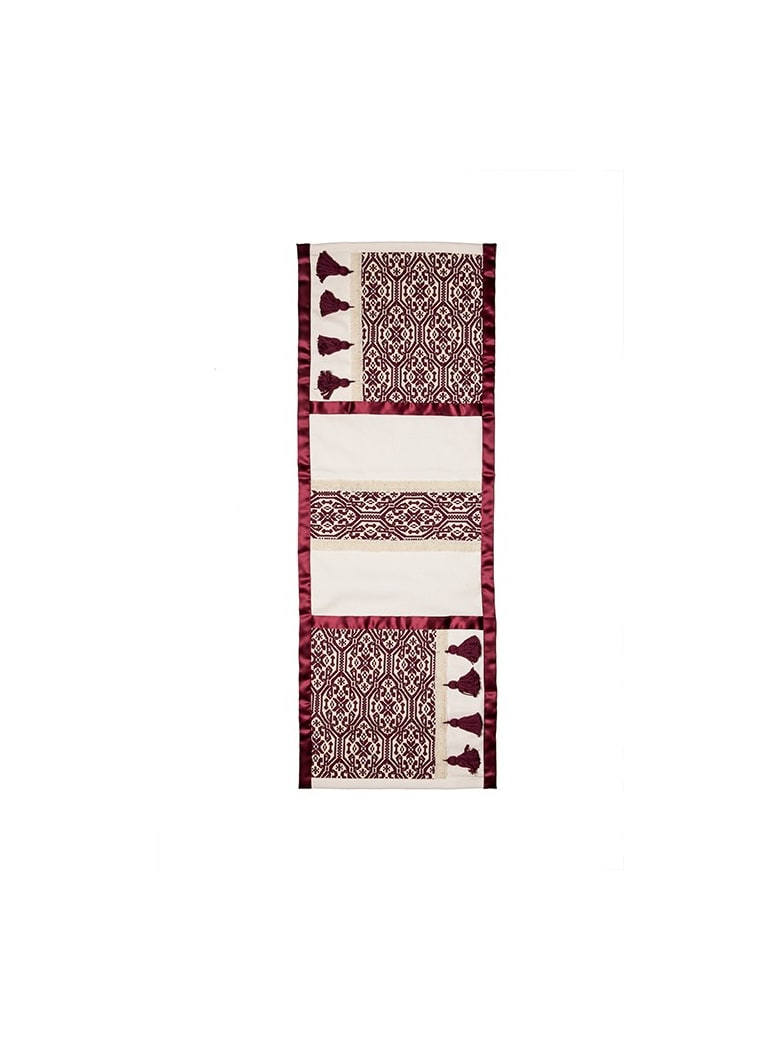 Le Botteghe su Gologone Tapestries Trama 150x50 Cm - Red