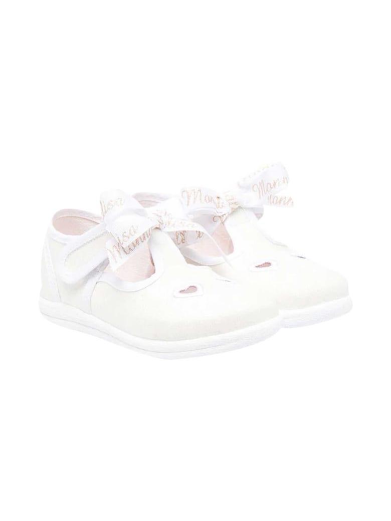 Monnalisa White Ballet Flats - Bianco