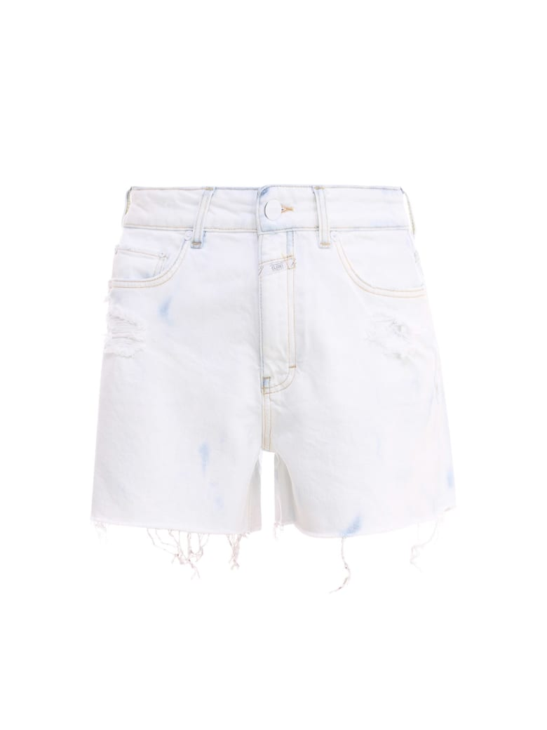 Closed Shorts - Azzurro