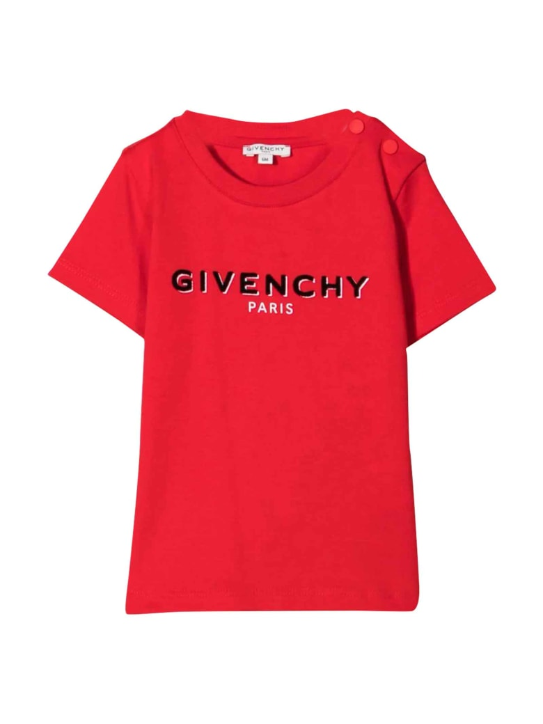 Givenchy Unisex Red T-shirt - Rosso