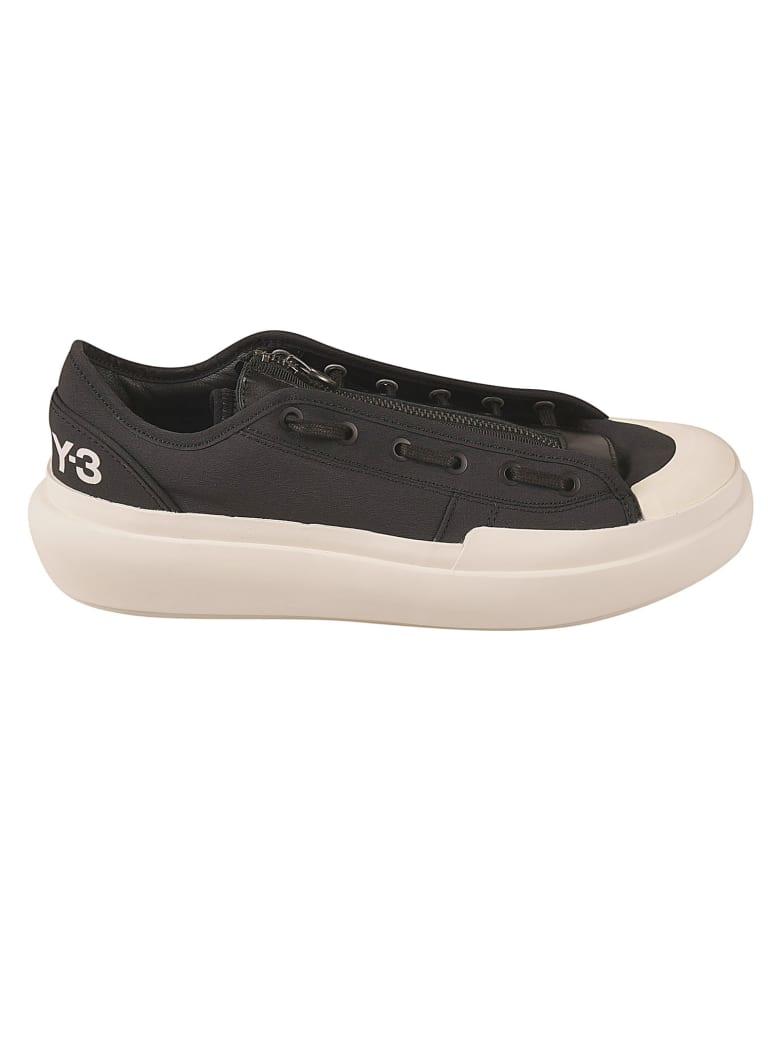 Y-3 Ajatu Court Low Sneakers - Black/White