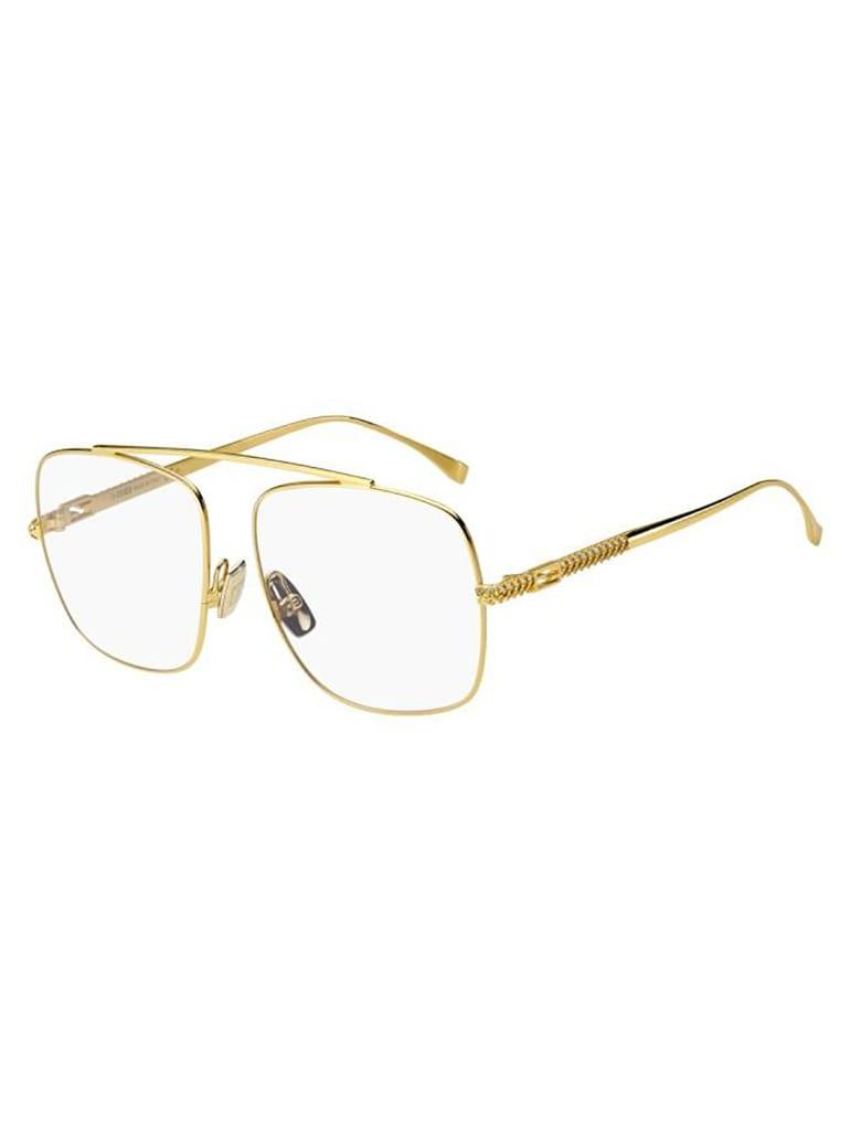 Fendi FF 0445 Eyewear - Gold