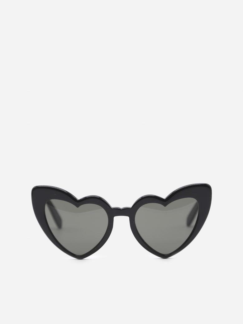 Saint Laurent Oversized Sunglasses New Wave Sl 181 Loulou - Black