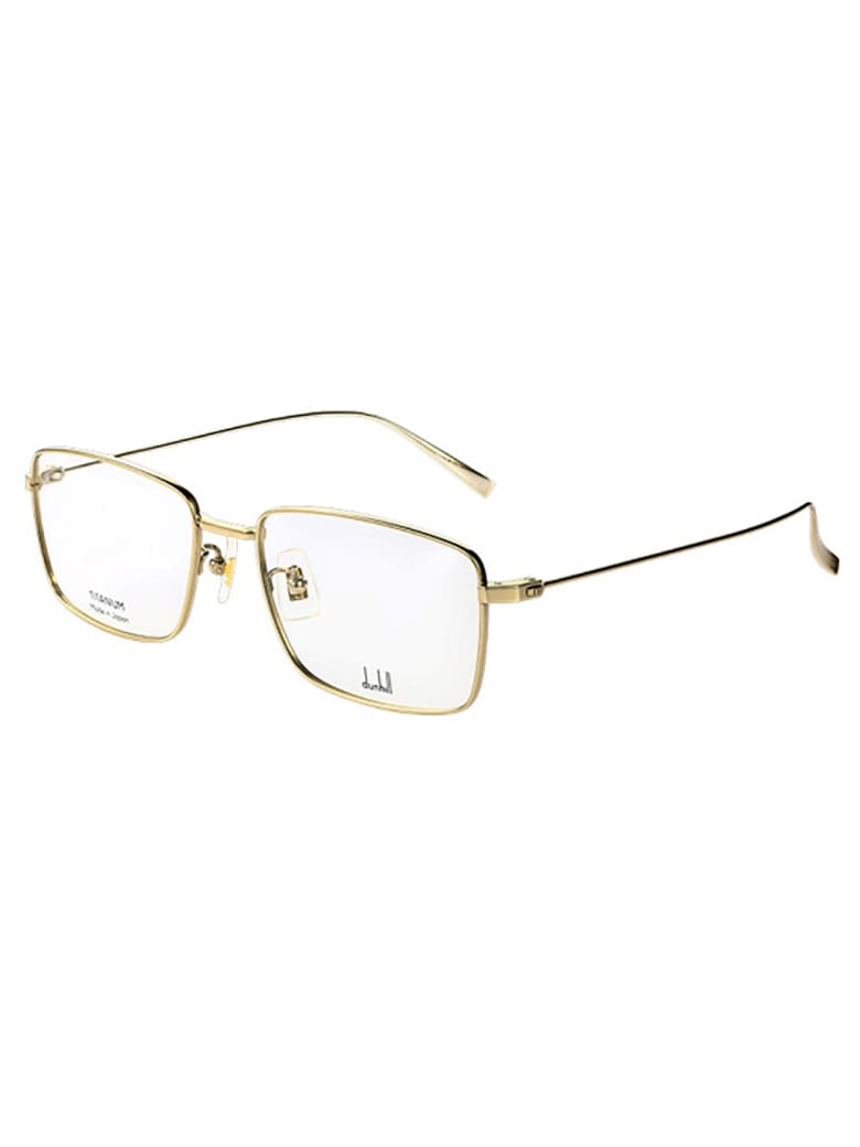 Dunhill DU0006O Eyewear - Gold Gold Transparent