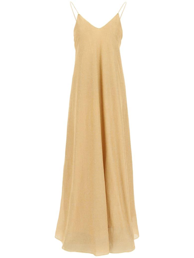 Oseree Lumière Long Dress - GOLD (Gold)