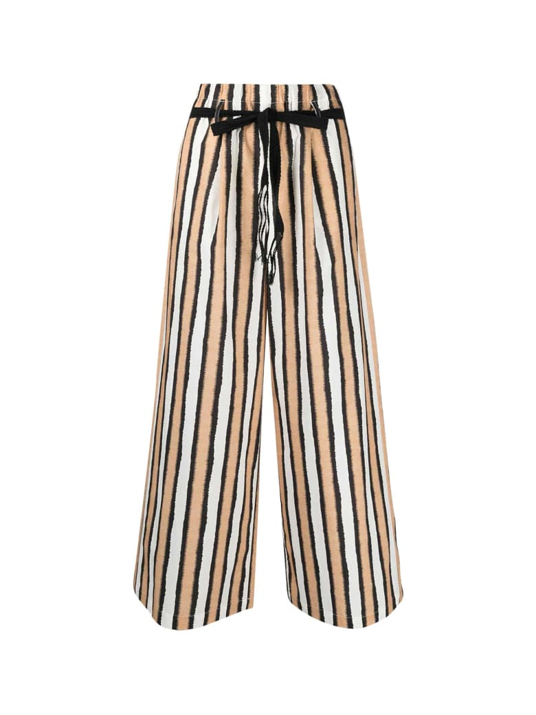 Alysi Stripes Trousers - Multicolor